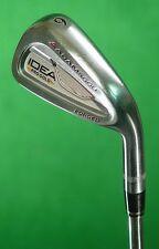 Adams Idea Pro Gold Forged Single 6 Iron True Temper Black Gold Steel Stiff