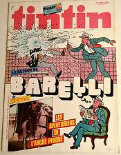 Journal Tintin BD Comics Magazine Hebdo No 40 36e 1981 Aventurier L'arche Perdu