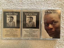 The Legendary NAT 'KING' COLE Double Cassette Tape 1 & 2 + more Sealed New