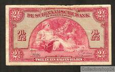 Suriname 2½ Gulden 1942 Fr Pn 87b