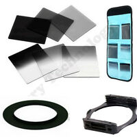 Square Filter 62mm Adaptor for Cokin P Series + Filter Set ND2 ND4 ND8 G.ND2 4 8