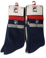 FILA Crew Socks 6-Pk Size 6-12