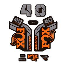 Fox 40 Bleu Fourche Autocollants Decals Graphics vtt DOWN HILL MTB 2015