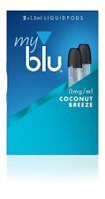 2 x 1.5ml MY BLU COCONUT BREEZE 0.0% / 0mg LIQUIDPODS - MYBLU