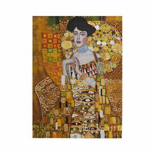Gustav Klimt Oil Painting Famouspaint Wooden Jigsaw Puzzle DIY 500-1000 Piece