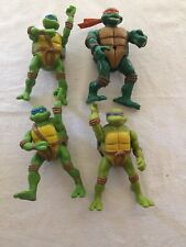 4 x Teenage Mutant Ninja Turtles Tnmt Action Figures Vintage 2000's Bulk