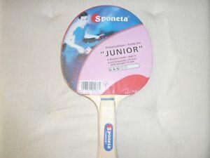 Sponeta Tischtennisschläger Junior Freizeitschläger  mit Schwamm 1,5 mm