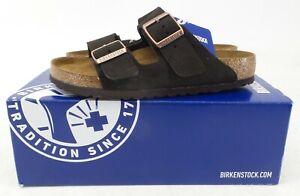 Birkenstock Unisex Genuine Arizona Suede Leather Sandals Mocha Size: 41 L10/M8