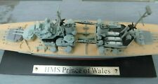 'H.M.S. PRINCE OF WALES' !!RARE!!-DE-AGOSTINI LEGENDARY WARSHIPS 1:1250 Scale