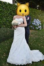 Abito da sposa indossato una sola volta  taglia 44/46 come nuovo