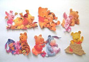 3D- U Pick - CM8 Pooh Piglet Tigger Eeyere Rabbit Scrapbook Card Embellishment