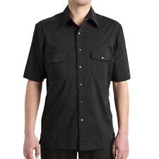 Men's 'MEKANIK' Short Sleeve Kitchen / Chef Shirt TOWN & COUNTRY UNIFORMS Size M