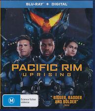 Pacific Rim Uprising Blu-Ray NEW Region B