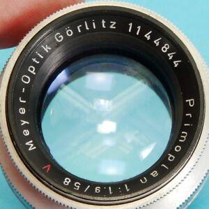 Meyer-Optik Görlitz PRIMOPLAN 1:1.9/58 Lens M42 + DIGITAL SLR + Sony NEX E-Mount