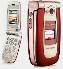 Sony Ericsson Z500a (At&T) Cellular Phone Red