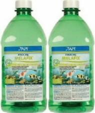 2 Pack API Pond Care MelaFix 64 oz. Koi and Goldfish Antibacterial Remedy 176C