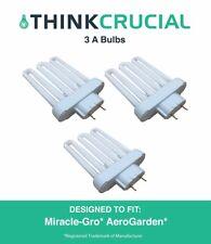 3 Replacements Miracle-Gro AeroGarden A Grow Bulb Part # 100633