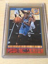 2013-14 NBA Hoops Gold Border #73 KEVIN DURANT -- Oklahoma City Thunder