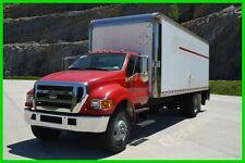 2005 Ford F750 24ft Box Truck w/ Lift gate