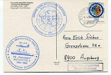 Alfred Wegener Institute Polarstern ANTARKTIS II DO-228 Bremerhaven Polar Cover