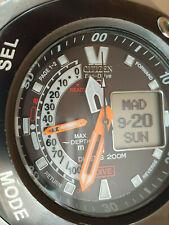 CITIZEN ECO-DRIVE PROMASTER AQUALAND JV0020-04E. U107. TITANIO. WR200M