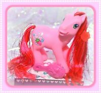 ❤️My Little Pony G3 Strawberry Reef Shimmer Butterfly Island Shell-Belle Pose❤️
