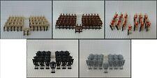 50x / 25x Verschiedene Kampfdroiden mit Grundplatten (Battle Droid) - kompatibel