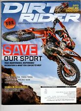 Dirt Rider Motocross Magazine March 2013 Ktm Factory Mike Brown Trail Maintance