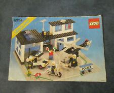 LEGO Vintage Notice de Montage Instruction Police Station Set 6384 LEGO LEGOLAND