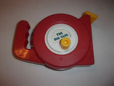 Fun Time - The Big Tape (Large red vintage toy measuring tape)