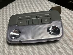 2002 Hyundai XG 350 OEM interior dome light and sunroof control switch