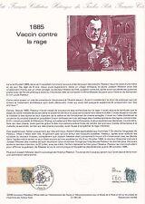 Document Philatélique Timbre 1er Jour : 01/06/ 1985 - Vaccin contre la rage