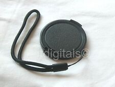 Front Lens Cap cover For Canon Powershot SX10 IS Holder Keeper String Cord New