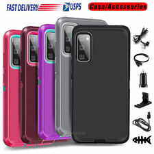 For Samsung Galaxy S20 Fe 5G Case Protective Hybrid Armor Hard Cover+Accessories