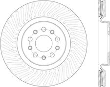 Disc Brake Rotor-High Carbon Alloy Brake Disc-Preferred Front fits 14-17 Ghibli