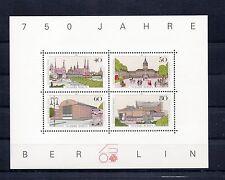 ALLEMAGNE Germany BERLIN Bloc Feuillet Yvert N° 8 Neuf Luxe XX Berlin 750 ans