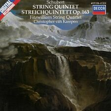 SCHUBERT : STRING QUINTET - FITZWILLIAM STRING QUARTET, VAN KAMPEN / CD