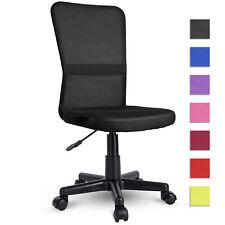 Silla de oficina giratoria para estudio escritorio despacho Color Negro