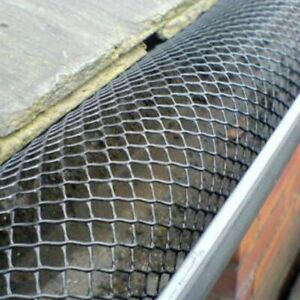 Mesh Gutter guard Wire Net Cover Drain Leaf Debris Clog Protection Netting 2M 4M