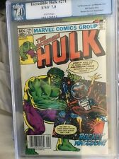 INCREDIBLE HULK #271 (1982 Marvel) PGX (not CGC) 7.0 White Pages