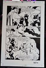 SUPERMAN ADVENTURES #48 PAGE #18 2000 ORIGINAL COMIC ART-VOKES-TERRY AUSTIN