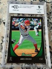Bowman Mike Trout Beckett Bccg Baseball Cards For Sale Ebay