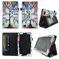 Tree Pattern Fit for Kindle Fire 7 inch 2015 Tablet Case Cover ID Slot