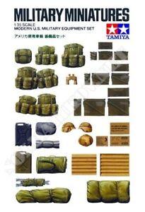 Tamiya Military 1/35 Scale Modern US Military Equipment Set Model Kit 35266