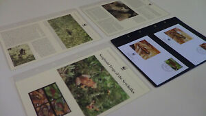 2003  Seychelles WWF stamps and first day covers with sooglossid frogs info.