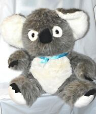 Large Koala Bear Plush Stuffed Animal Australian Down Under Eucalyptus Euc