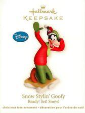 Hallmark Ornament Snow Stylin Goofy Ready Set Snow Dog Hat Collectible Keepsake