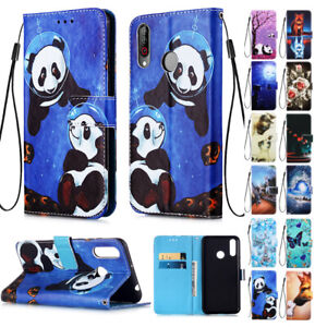 For Huawei Mate 10 20 30 Lite Nova 5 5i Pro Y6 2019 8A Leather Case Cover -LiYB