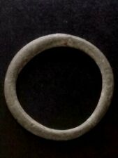 Large 26mm Genuine Ancient Celtic Bronze Ring Money ~600 Bc Sandy Patina #35