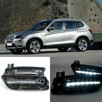 2pcs Brand  Auto LED Daytime Running Lights DRL Fit For BMW X3 2011-2012 F25